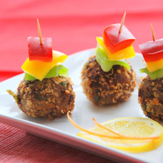 Spicy Fish Kebabs.