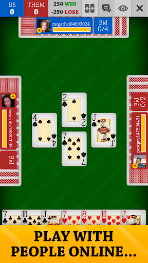 Spades Free: Card Game Online and Offline screenshots 2