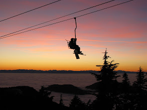 Photo: Cypress Sky Chair at sunset