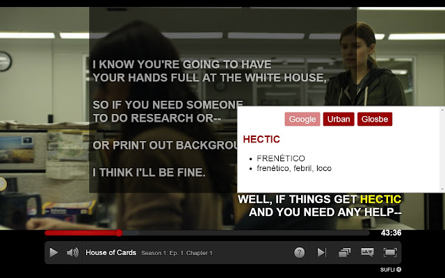 SUFLI - Netflix subtitles translator