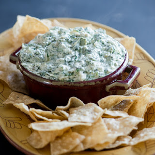 Hot Stove Top Artichoke Spinach Dip Recipe (or baked)