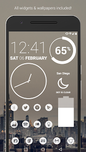 Light Void – White Minimal Icons (Pro Version) v3.0.2 [P] APK 1