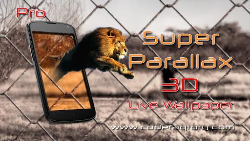 玩個人化App|Super Parallax 3D Pro LWP免費|APP試玩