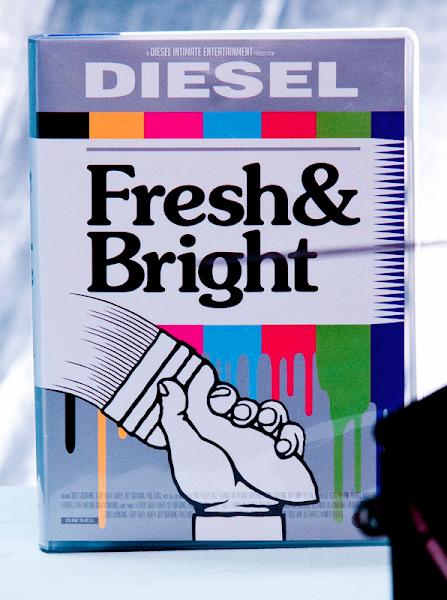 Photo: Exhibition opens June 22 http://www.diesel.com/freshandbright/