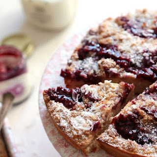 Raspberry Coconut Coffee Cake Recipe