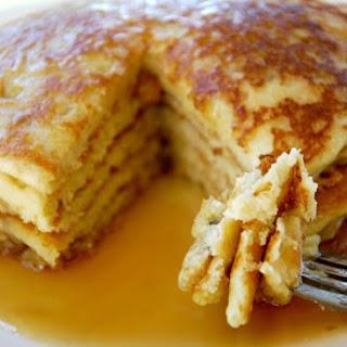 "Grain Free Lemon ""Buttermilk"" Pancakes"