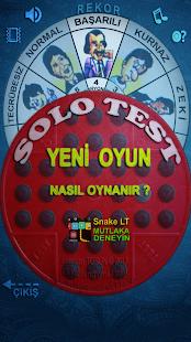Solo Test - Kahkaha efektli Ekran Görüntüsü