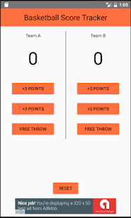 Download Basketball Score Tracker For PC Windows and Mac apk screenshot 1