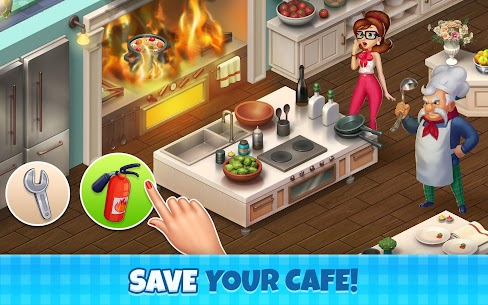 Manor Cafe Mod Apk 1.97.9 (Unlimited Money/Coins + Mod Menu) 1