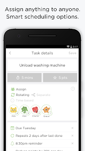 OurHome – Chores and Rewards: miniatura de captura de pantalla