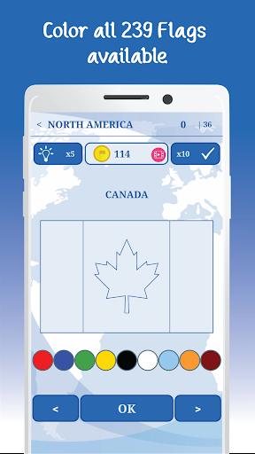 The Flags of the World u2013 Nations Geo Flags Quiz 5.1 screenshots 18