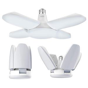 Lampa LED cu 4 brate mobile ajustabile, E27, 3000K, 60W