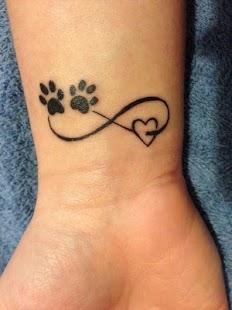 Love Tattoo - girls tattoo,unique tattoo girls - náhled