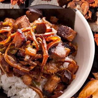 Sisig (Filipino Sizzling Pork).