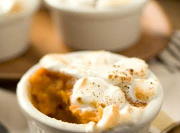 Holiday Sweet Potatoes with Marshmallow Cream