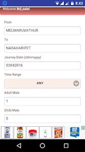 ST TamilNadu Bus Booking screenshot 3
