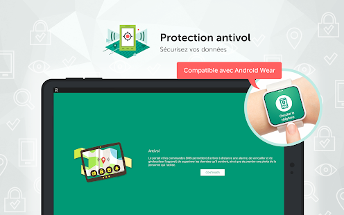 Kaspersky Mobile Antivirus: Web Security & AppLock – Vignette de la capture d'écran