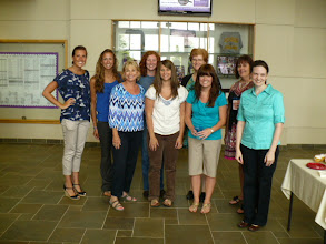 Photo: Graduate students and clinic staff