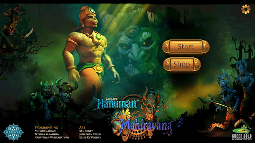 Hanuman Vs Mahiravana Game 1.0 screenshots 1