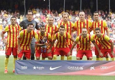 Premier coup d'arrêt pour Barcelone