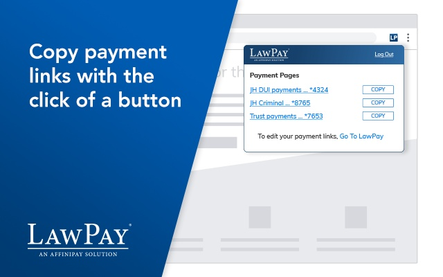 LawPay Browser Extension