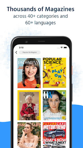 Foto do Magzter: Digital Magazines & Newspapers