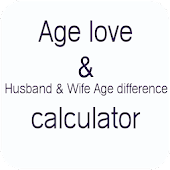 Age love &  Age difference calculator