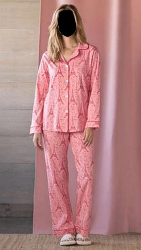 Women Pajamas Dress Photo Frames for PC