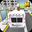 IceCream Delivery Truck Sim 3D icon