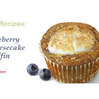 Blueberry Cheesecake Vitamuffins