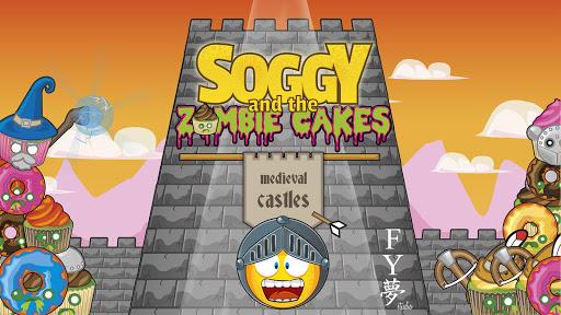 潮湿的中世纪城堡