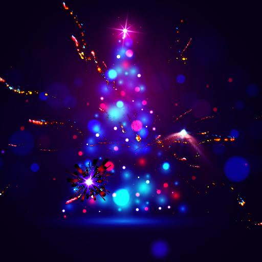 Baixar 3D Christmas Tree Wallpaper para Android