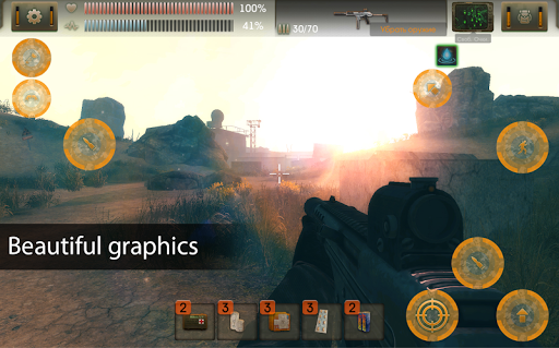 The Sun Origin: Post-apocalyptic action shooter 1.9.0 screenshots 1