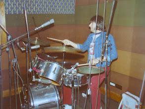 Photo: Recording at J L's Studio