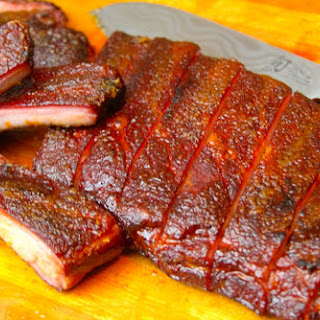 Smoked Candied Ribs (aka Bruleed Ribs).