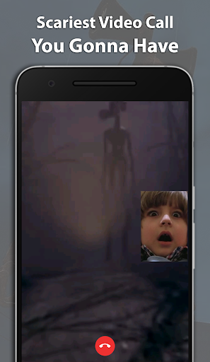 Best Scary Siren Head Fake Chat And Video Call screenshot 4