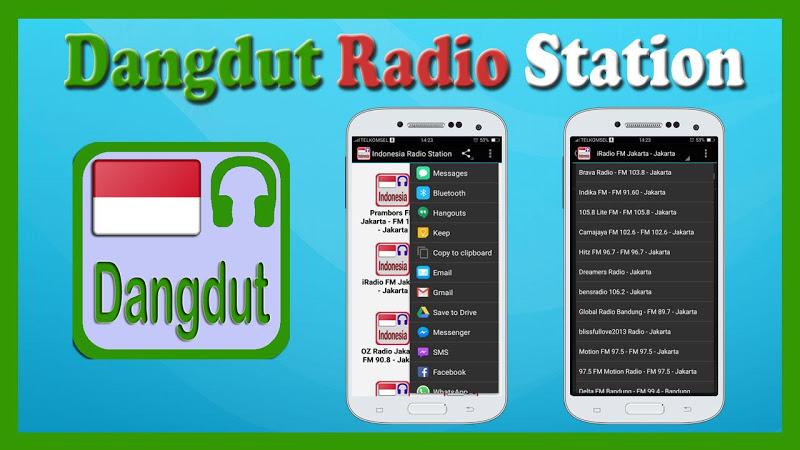 Скриншот Dangdut Radio Station