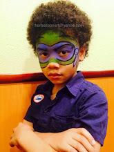 Photo: Ninja turtle face painting by Heidi, La Verne, Ca 888-750-7024