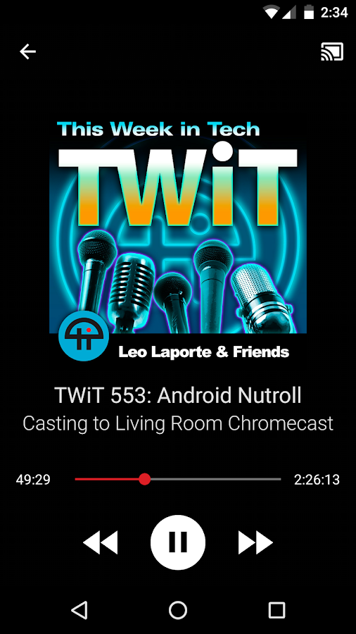 TWiT Cast- screenshot
