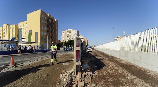 Así quedará Carretera de Sierra Alhamilla tras el derribo del muro de Renfe