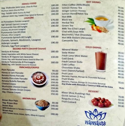 Jai Neelkanth Restaurant menu 4