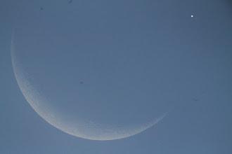 Photo: Venus ocultandose