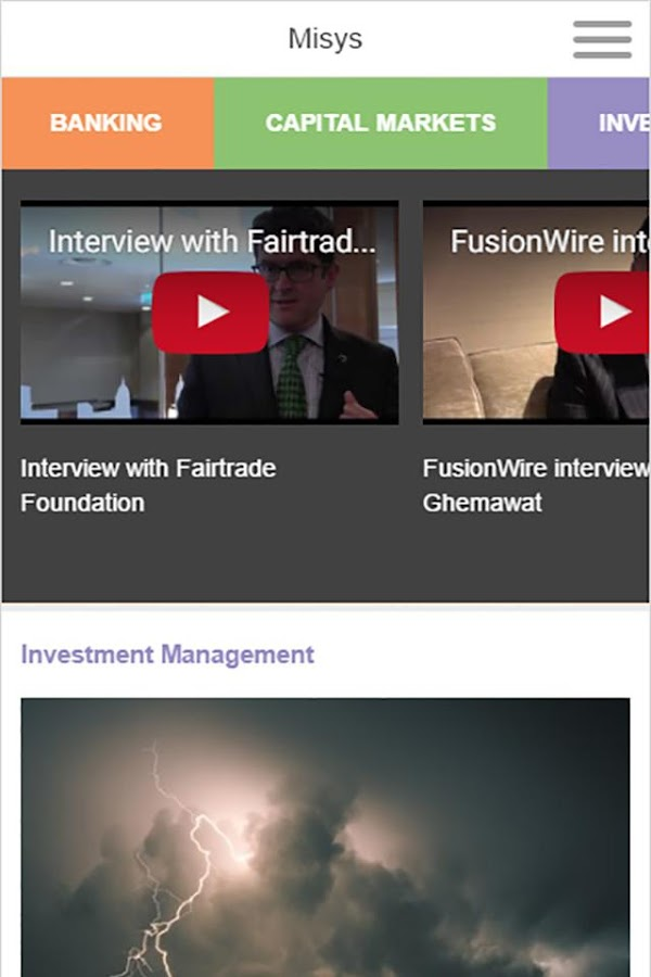 Misys FusionWire 2- screenshot