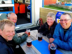 Photo: Mack bayer i nedfryste seidler, vi rakk Ylvingen kafé før den stengte!
