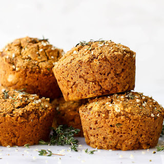 Sweet Potato & Herb Savory Muffins