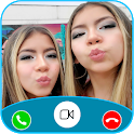 Planeta das Gêmeas Call Me! Fake Video Call icon