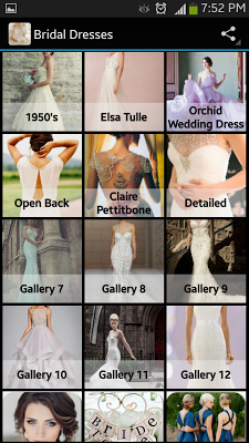 Bridal Dresses - screenshot
