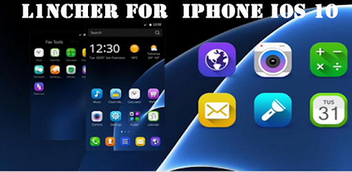 Launcher For iPhone iOS 10 Apps (apk) free download for Android/PC/Windows screenshot