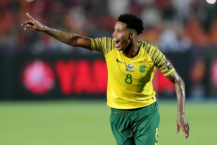 Bongani Zungu in action. Picture: REUTERS/SUMAYA HISHAM