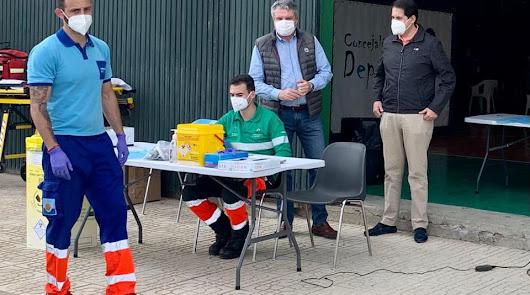 Vacunación en el Distrito Levante-Alto Almanzora.